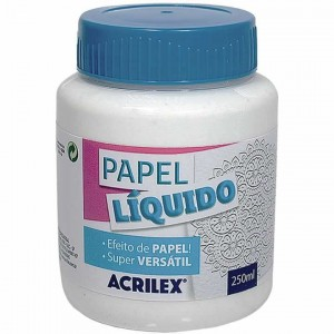 Papel liquido Acrilex 250 ml