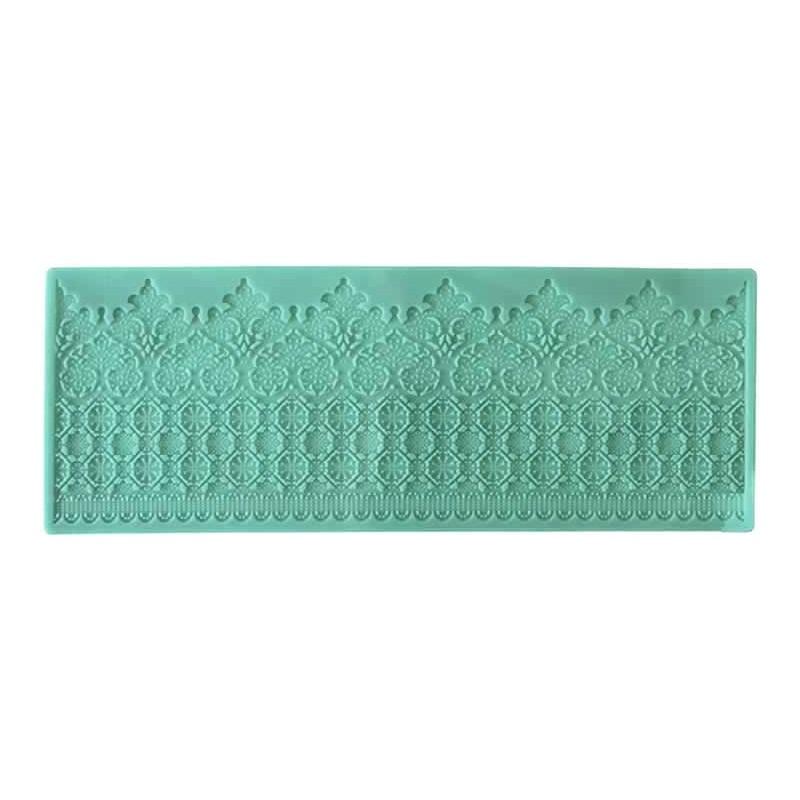 Molde de silicona puntilla calada 11 x 31 cm