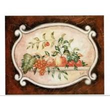 Laminas para cuadros 3D bodegon con frutas nº 2