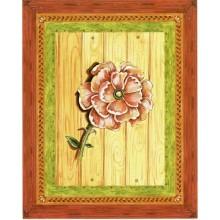 Lamina para cuadros 3D flor coral