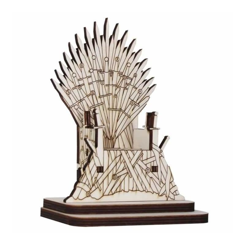 Trono coleccion Hielo y fuego con pedestal 16 X 11,8 X 4,6 cm