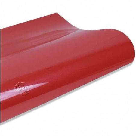 Vinilo textil termoadhesivo rojo fuego 30 x 50 cm