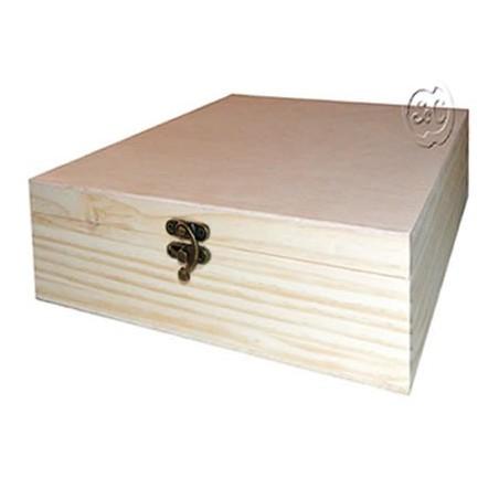 Caja de madera especial album modelo 2