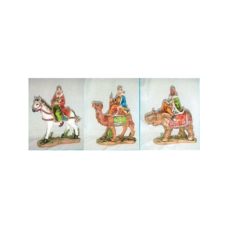 Juego 3 Reyes Caballo, Camello y Elefante