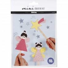 Mini kit creativo Princesas con palos de polo