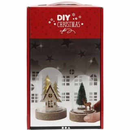 Kit de 2 campanas y decoracion de Navidad