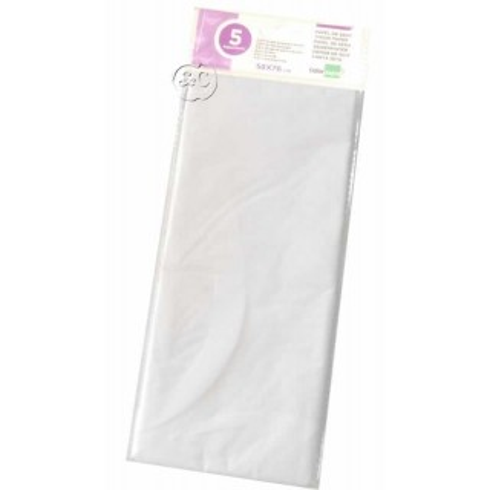 Paquete papel seda blanco