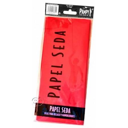 Paquete papel seda Rojo