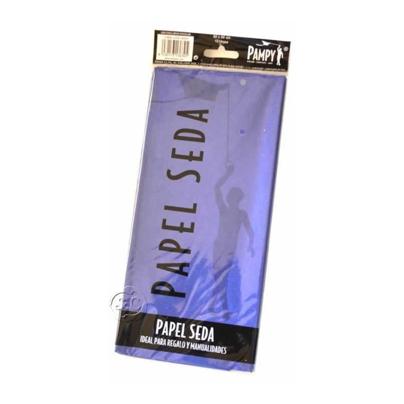 Paquete papel seda Turquesa