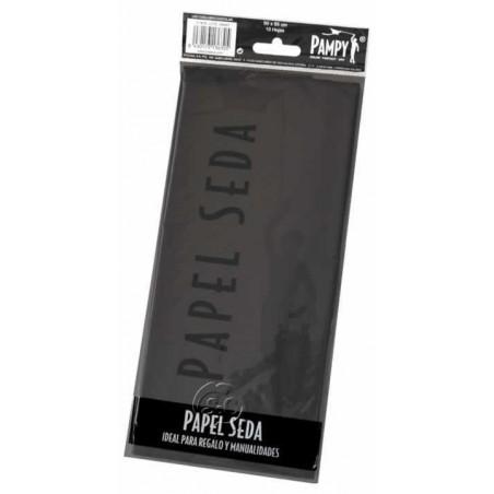 Paquete papel seda Negro