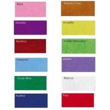 Surtido de fieltro de 12 colores 3 mm de 45 x 35 cm
