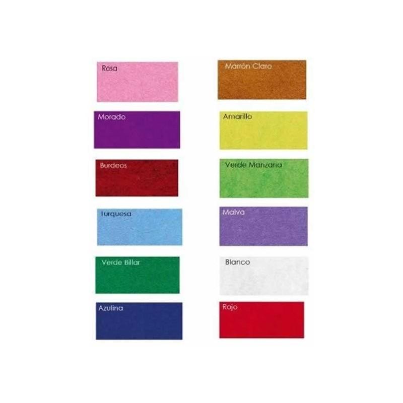 Surtido 15 colores fieltro