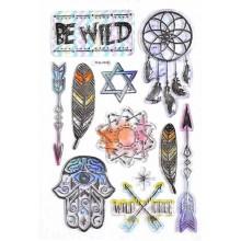 Stikers Wild Free 3D nacaradas varios diseños