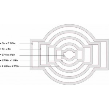 Troquel Framelits 658832 Etiquetas ornamentales