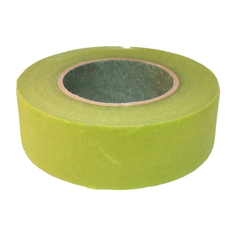 Cinta floral tape ancho 26 mm verde claro