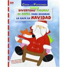 Libro DRAC 02052 Divertidas figuras de papel de navidad