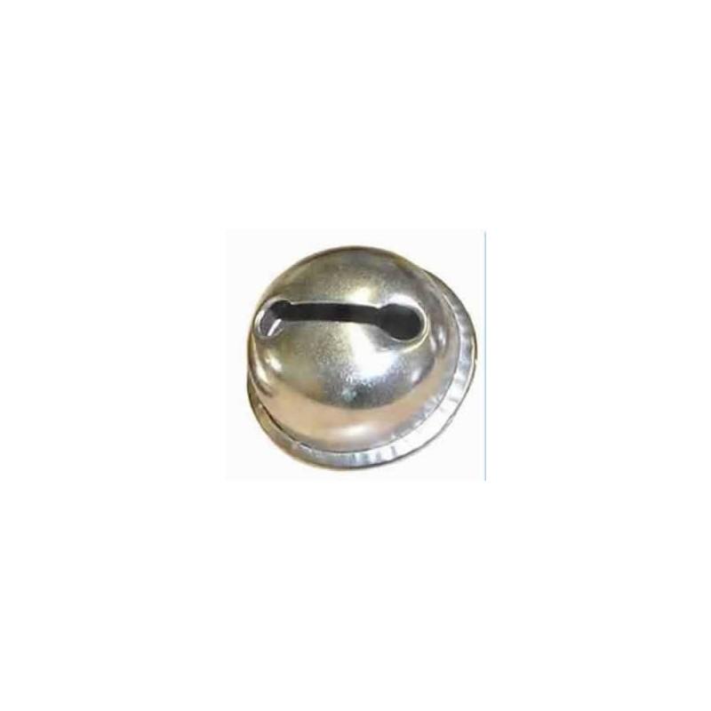 Cascabel 24 mm plateado