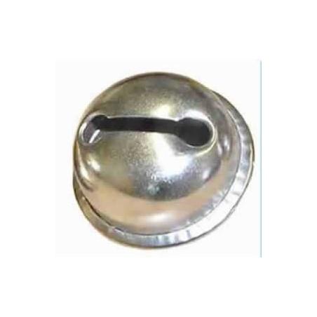 Cascabel 24 mm 1 unidad dorado o plateado