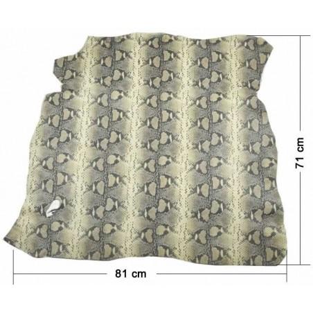 Piel entera fantasia Serpiente boa 71 x 81 cm