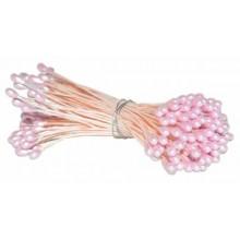 Pistilos nacarados doble Rosas 6 cm
