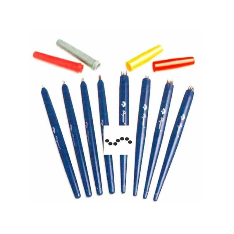 Perforador 4 agujas