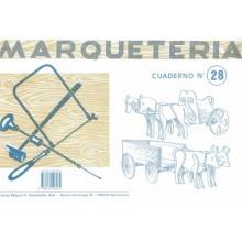 Cuaderno de marquetería nº 28 Carrozas