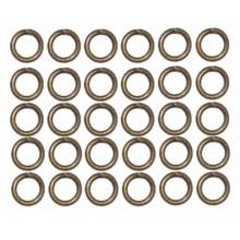 Anillas bronce 6 mm 50 unidades