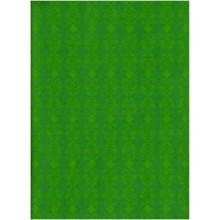 Plancha de goma eva estampada verde con volutas 2 mm