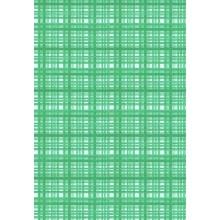 Plancha de goma eva estampada cuadros verdes 2 mm