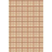 Plancha de goma eva estampada cuadros beige 2 mm