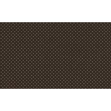 Plancha de goma eva estampada Cafe topos blancos 2 mm