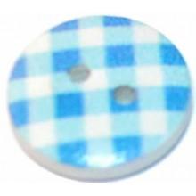 Botones Vichy Azul