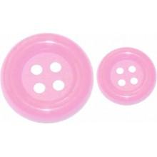 Boton carnaval rosa
