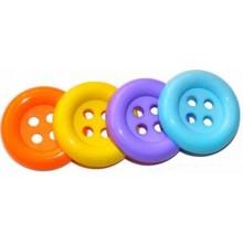 Botones de colores grandes para disfraces 1 unidad