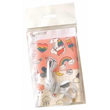 Kit para 2 mascarillas para niños de 2 a 5 años
