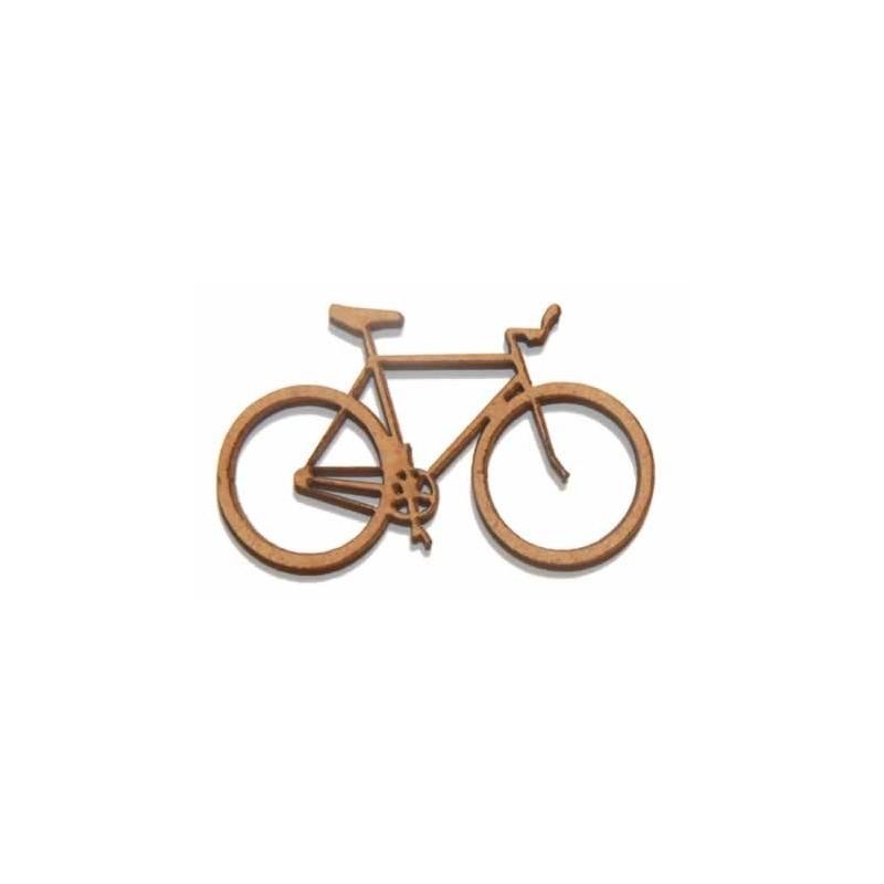 Silueta madera para scrap bicicleta