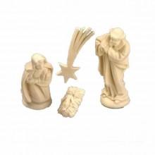 Pesebre de belén en miniatura de 4 cm