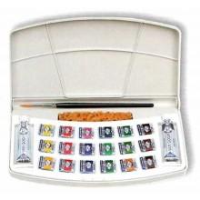 Caja de Acuarelas de 18 pastillas