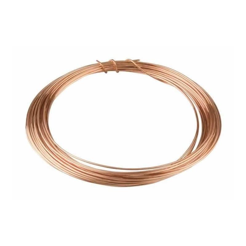 Rollo alambre Cobre 0,6 mm x 11 m.