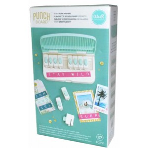 caja Set de Base Word Punch Board
