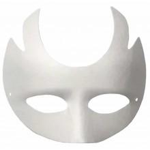 Máscara de papel mache demonio