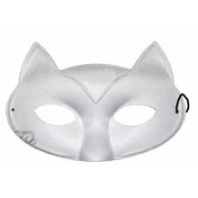 Máscara de tela gato