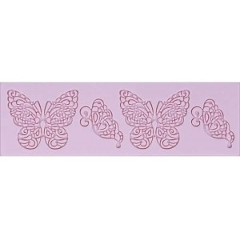 Molde de silicona mariposas