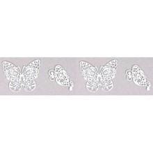 hecho con Molde de silicona mariposas