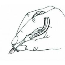 como coger el cutter de dedo
