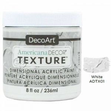 Americana Decor texture dimensional blanca ADTX01