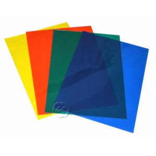Hojas de acetato de 0,4 mm colores 4 unidades A4