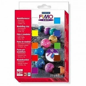 Set FIMO soft 10 pastillas...