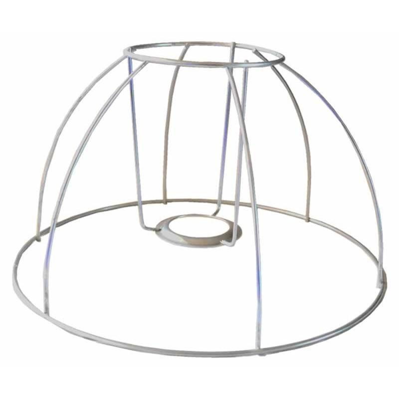 Armadura lampara medio globo 25 cm