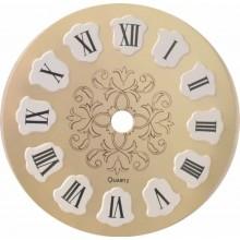 Esfera de reloj de metal...